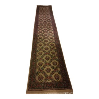 "Turkish Hand-Knotted Runner - 2'6"" x 14'"