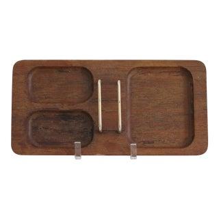 Mission Walnut Desk Tray