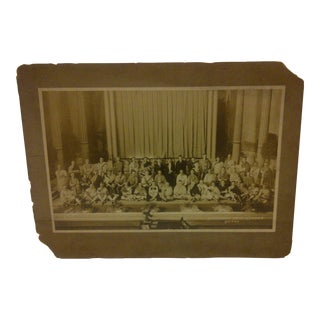 "Vintage ""Pittsburgh Male Chorus"" Black & White Photograph"