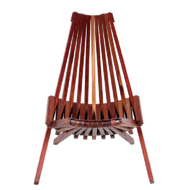 Laurel Wood Folding Chair - Image 2 of 8