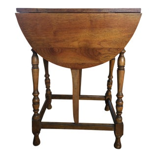Mary & William Gateleg Side Table