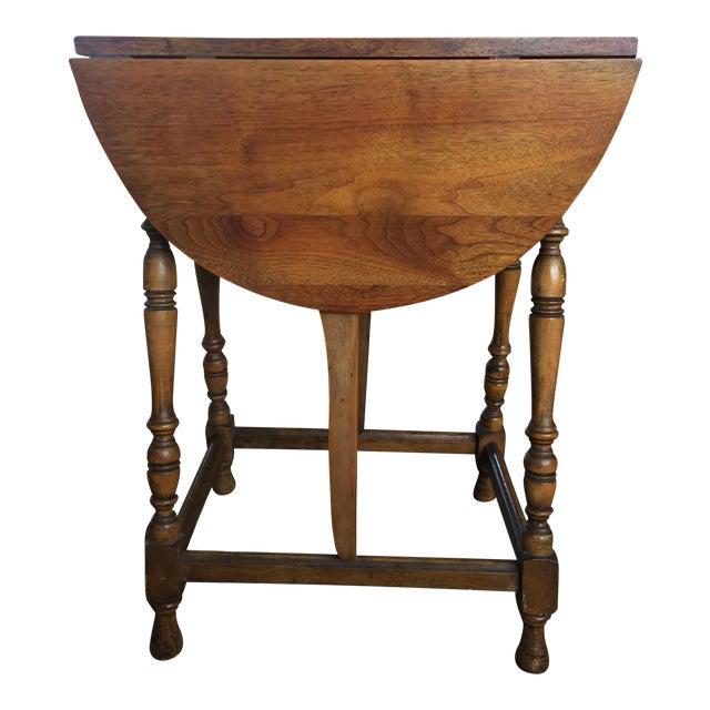 Mary & William Gateleg Side Table - Image 1 of 7