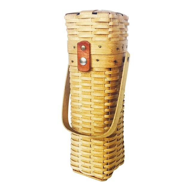 Vintage Wine Basket - Image 1 of 6
