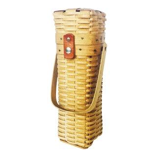 Vintage Wine Basket