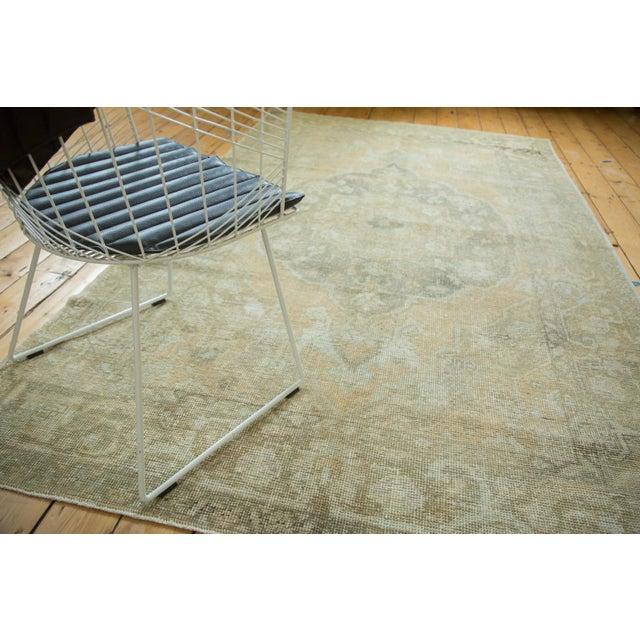 "Vintage Distressed Oushak Carpet - 5'8"" x 9'4"" - Image 2 of 10"