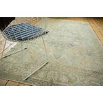 "Image of Vintage Distressed Oushak Carpet - 5'8"" x 9'4"""