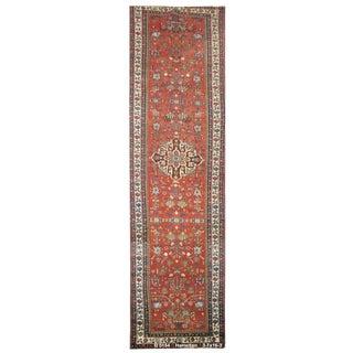 Vintage Persian Hamedan Rug - 3'7''x16'3''