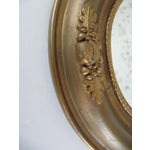 Image of Vintage Fruit & Flower Accent Gold Mirror