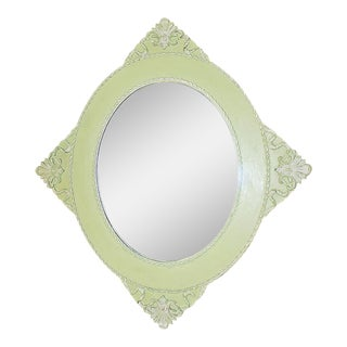 Lem-Lem Painted Antique Mirror