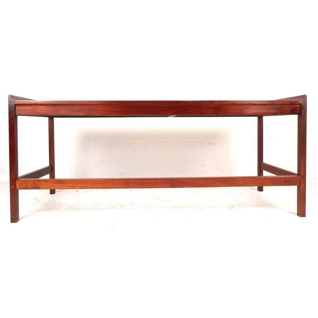 Mid-Century American Walnut Console Table - Image 5 of 5