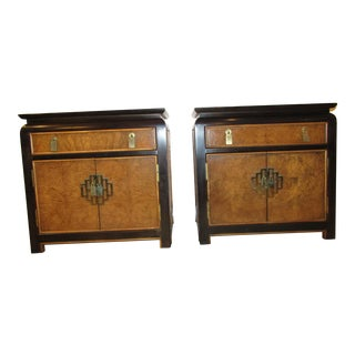Century by Raymond Sabato Chin Hua Nightstands - A Pair