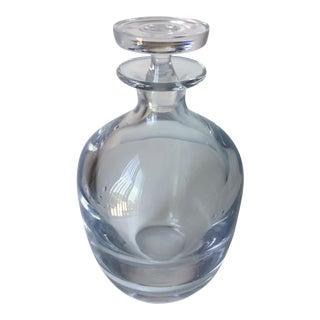 Vintage Hand-Blown Crystal Decanter