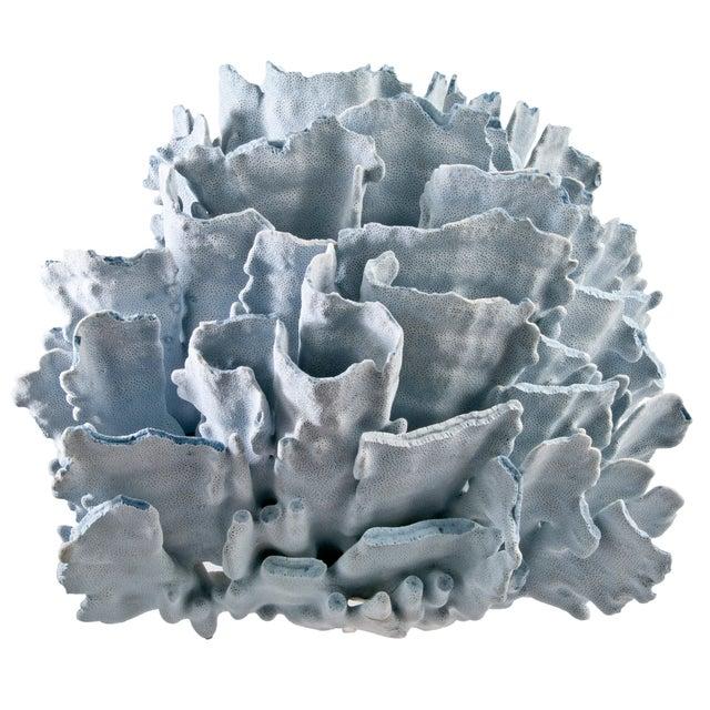 Large Blue Coral Specimen - Image 1 of 4