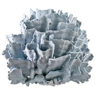 Large Blue Coral Specimen