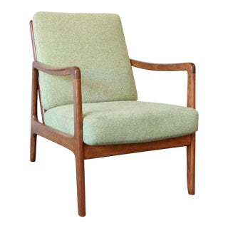 John Stuart Mid-Century Teak Lounge Chair by Ole Wanscher