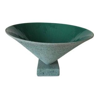 Memphis Style Signed Porcelain Bowl