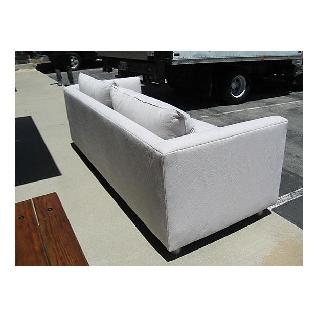 Mid-Century Modern Canvas Sofa - Image 7 of 8