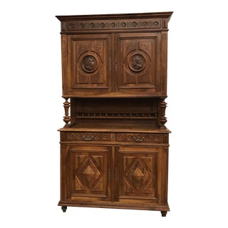 French Renaissance Revival Henri II Style Cabinet