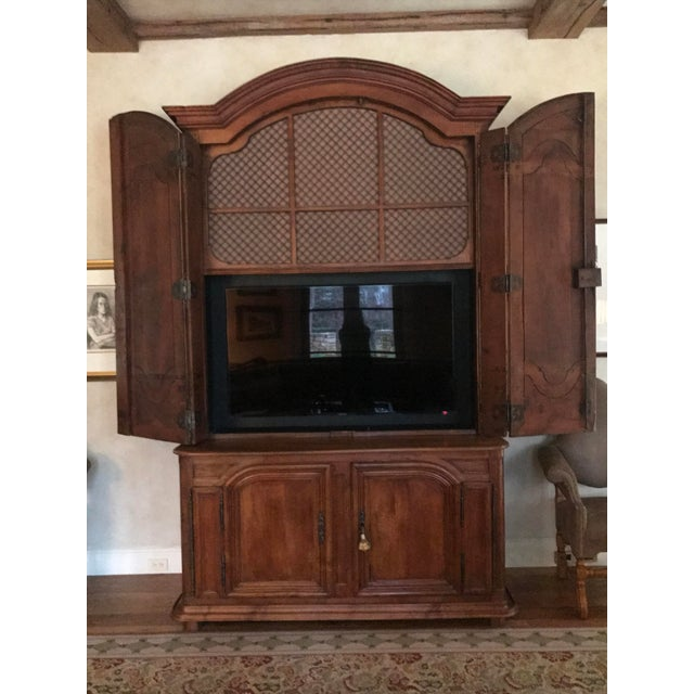 French Louis XIV Style Fruitwood Buffet - Image 4 of 6