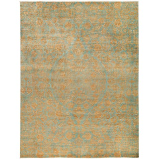 "Suzani, Hand Knotted Area Rug - 9'2"" X 11'10"""