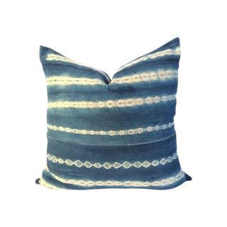 Vintage African Indigo Pillow