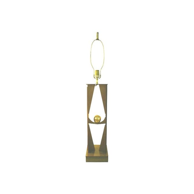Atomic Era Lucite Lamp Base - Image 1 of 3