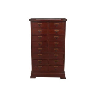 Apothecary Cherry Chest of Drawers