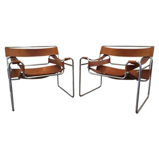 Wassily Chairs by Marcel Breuer - A Pair
