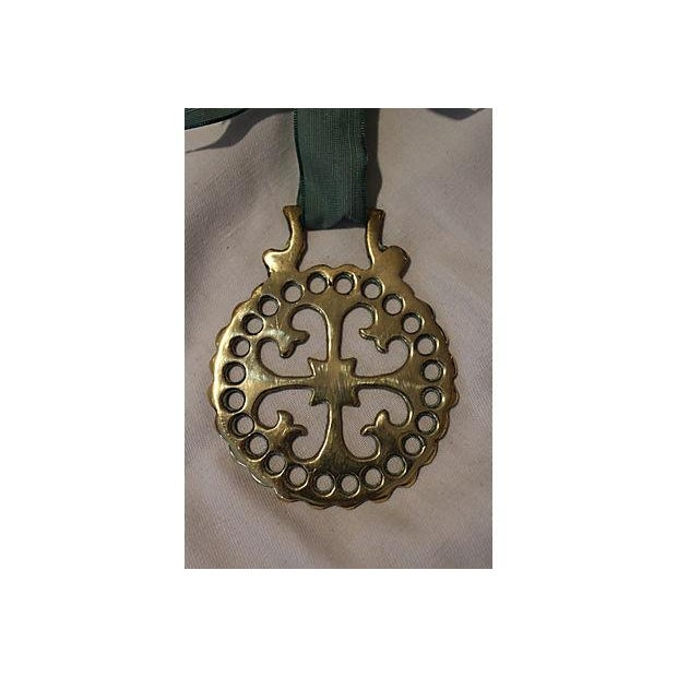 Antique Victorian Brass Horse Ornament - Image 4 of 4