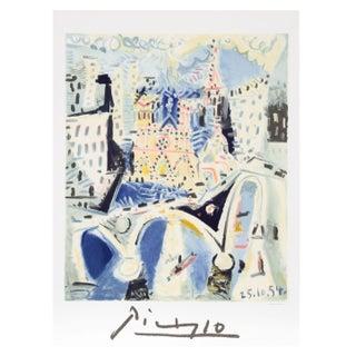 Pablo Picasso - Notre Dame Estate Lithograph