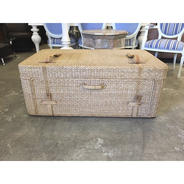Woven Trunk Style Coffee Table Chairish