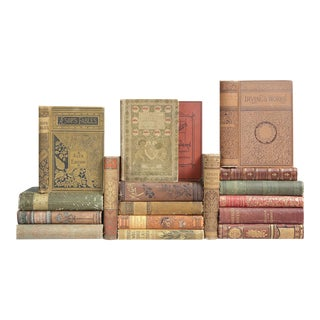 Antique Earthtone Book MIX - Set of 18