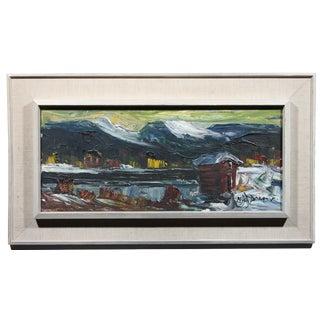 Lapporten Pass Painting
