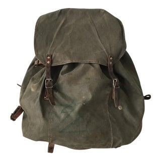 Circa 1900's Antique Army Backpack