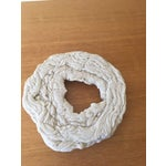 Image of White Abstract Wall Sculpture