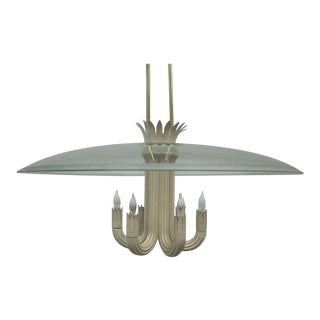 Important Pendant/Chandelier by Pietro Chiesa for Fontana Arte