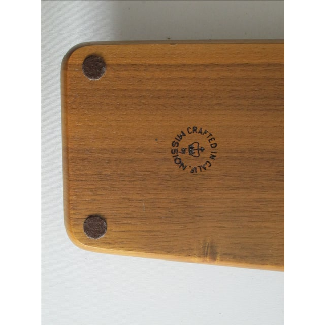 Handcrafted Mission Desk Tray - Image 7 of 7