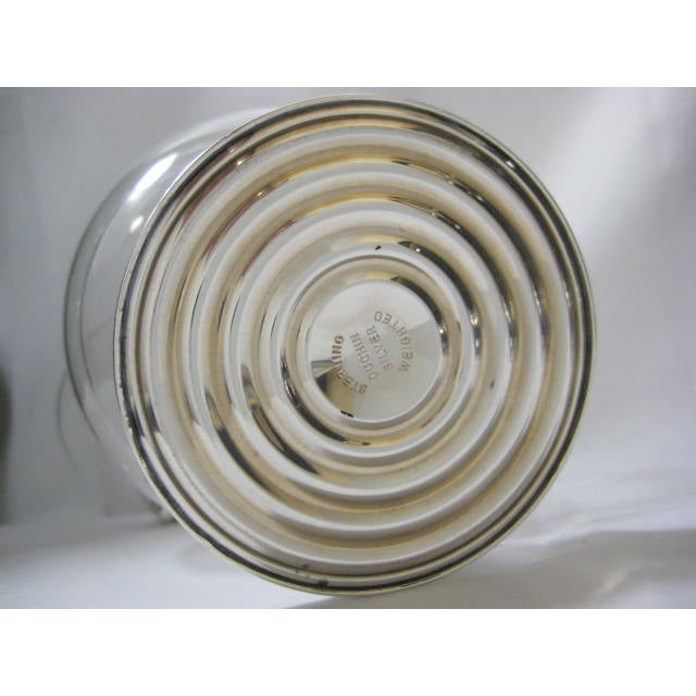 Sterling Finial & Base Covered Glass Candy Dish - Image 8 of 11