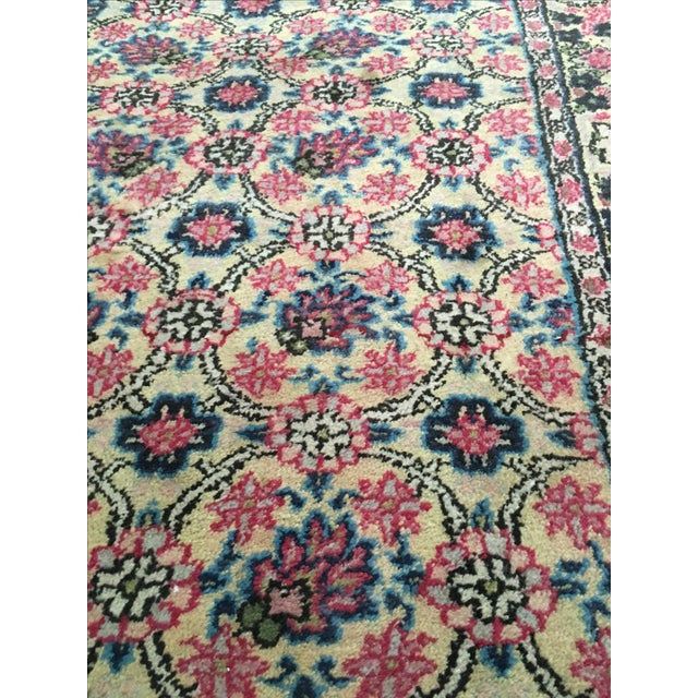 Vintage Egyptian Hand-Tied Wool Rug - 3′9″ × 6′8″ - Image 5 of 6