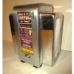 Image of Mid-Century Industrial Diner Booth Fortune Teller