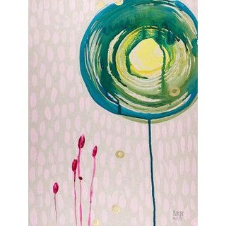 Alex K Mason Aqua Spin Series Lilac B Print