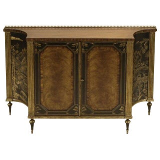 Maitland Smith Rosewood Chinoiserie Credenza