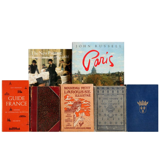 Image of Curated French Books - Set of 100
