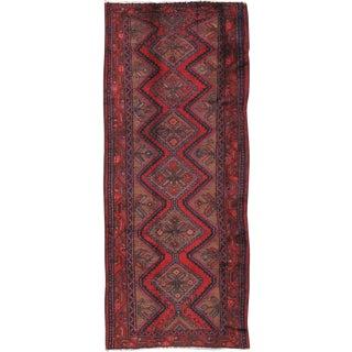 """Vintage Hamadan Wool Area Rug - 5'5"""" X 9'1"""""""