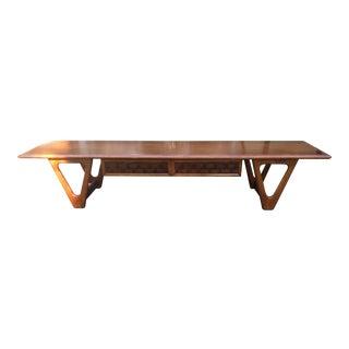 "Mid-Century Lane ""Surfboard"" Coffee Table"