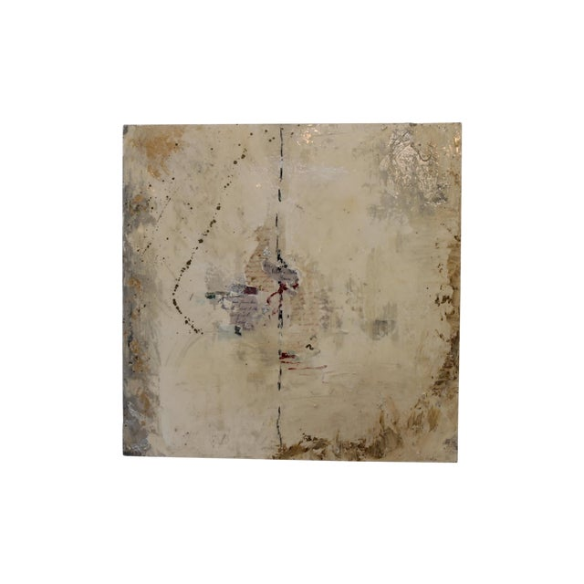 'Trying to Find the Right Path' Abstract Painting - Image 1 of 5