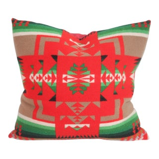 Beautiful Festive Pendleton Pillow
