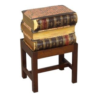Books Stack Side Table