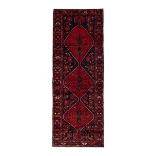 "ZANJAN Vintage Persian Rug, 3'6"" x 9'10"" feet"
