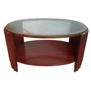 Art Deco Brown-Saltman Frankl Coffee Table